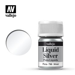 Vallejo 70.790 Model Color 211 Argent - Silver 35ml