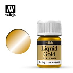 Vallejo 70.794 Model Color 215 Or Rouge - Red Gold 35ml