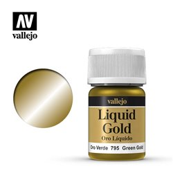 Vallejo 70.795 Model Color 216 Or Vert - Green Gold 35ml