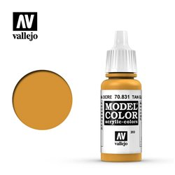 Vallejo 70.831 Model Color 203 Patine Ocre - Tan Glaze 17ml