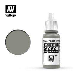 Vallejo 70.864 Model Color 178 Acier Naturel - Natural Steel 17ml