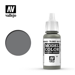 Vallejo 70.865 Model Color 177 Acier Graisseux - Oily Steel 17ml