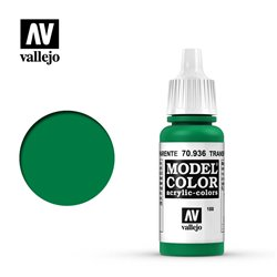 Vallejo 70.936 Model Color 188 Transparent Green 17ml