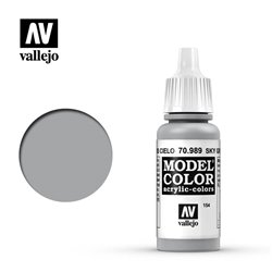 Vallejo 70.989 Model Color 154 Gris Ciel - Sky Grey FS36463 17ml