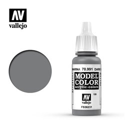 Vallejo 70.991 Model Color 159 Gris Mer Foncé - Dark Sea Grey FS36231 17ml