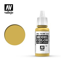 Vallejo 70.996 Model Color 172 Or - Gold FS17043 17ml
