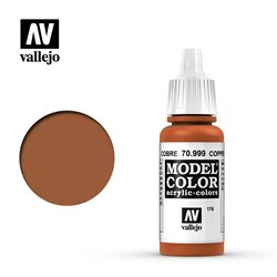 Vallejo 70.999 Model Color 176 Copper 17ml