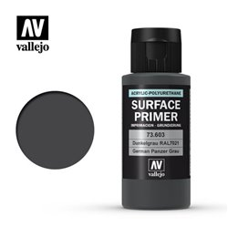 VALLEJO 73.603 Surface Primer Ger. Panzer Grey Color 60 ml.