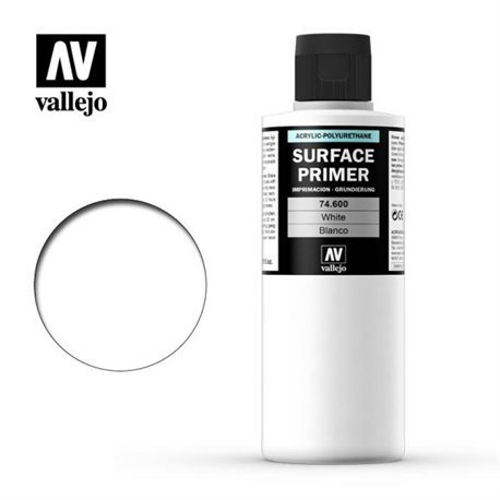 Vallejo 74.600 Model Color Surface Primer Blanc - White 200ml