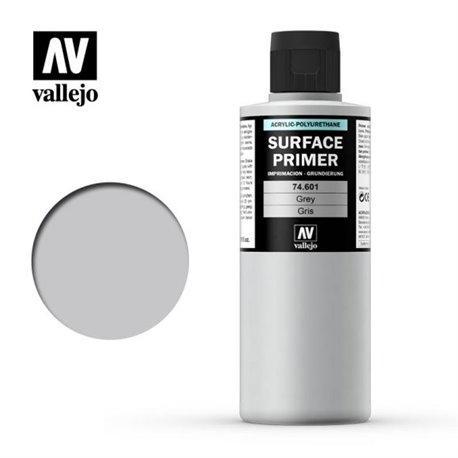 Vallejo 74.601 Model Color Surface Primer Gris - Grey 200ml