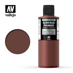 VALLEJO 74.605 Surface Primer Ger. Red Brown Color 200 ml.