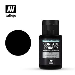 Vallejo 77.660 Surface Primer Noir Brillant – Gloss Black 32ml