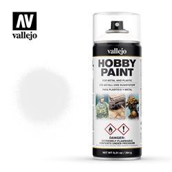 VALLEJO 28.010 Aerosol White Primer Basic Primer 400 ml.