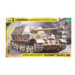 ZVEZDA 3659 1/35 German Tank Destroyer Elefant