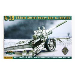 ACE 72228 1/72 122mm Soviet heavy gun A-19 m. 1931/37