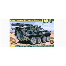 ACE 72402 1/72 Light Armored Recovery Vehicle LAV-R