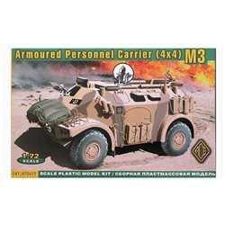 ACE 72411 1/72 Armoured Personnel Carrier (4x4) M3