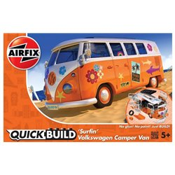 "AIRFIX J6032 Quick Build VW Camper Van ""Surfin"""
