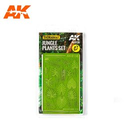 AK INTERACTIVE AK8138 1/35 1/32 JUNGLE PLANTS SET