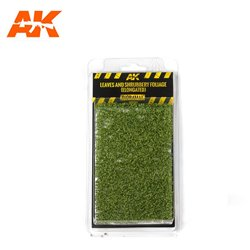 AK INTERACTIVE AK8144 1/35 LEAVES AND SHRUBBERY FOLIAGE (ELONGATED)