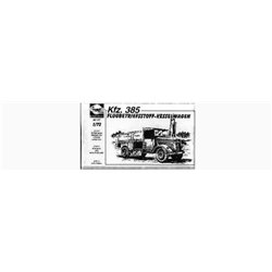 PLANET MODELS MV017 1/72 Kfz. 385 Flugbetriebsstoff – Kesselwagen