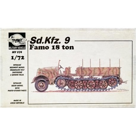 PLANET MODELS MV024 1/72 Sd.Kfz. 9 FAMO 18 ton