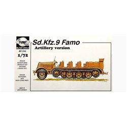 PLANET MODELS MV046 1/72 Sd.Kfz. 9 Famo Artillery version