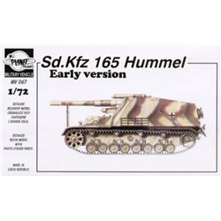 PLANET MODELS MV067 1/72 Sd.Kfz. 165 Hummel early W/Schatton metall barrel