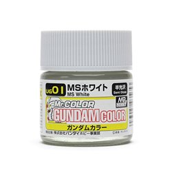 GUNZE UG01 Gundam Color (10ml) MS White