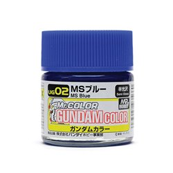 GUNZE UG02 Gundam Color (10ml) MS Blue