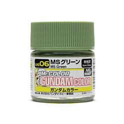 GUNZE UG06 Gundam Color (10ml) MS Green