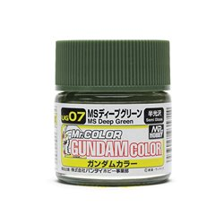 GUNZE UG07 Gundam Color (10ml) MS Deep Green