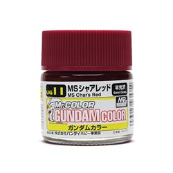 GUNZE UG11 Gundam Color (10ml) MS Char's Red