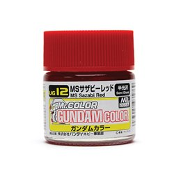 GUNZE UG12 Gundam Color (10ml) Sazabi Red
