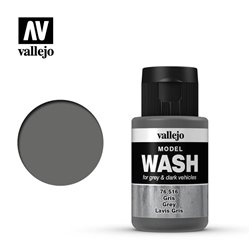 VALLEJO 76.516 Model Wash Grey Wash Color 35 ml.
