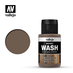 VALLEJO 76.521 Model Wash Oiled Earth Color 35 ml.