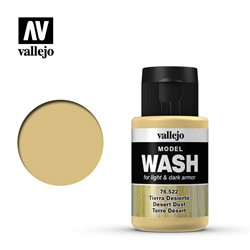 VALLEJO 76.522 Model Wash Desert Dust Color 35 ml.
