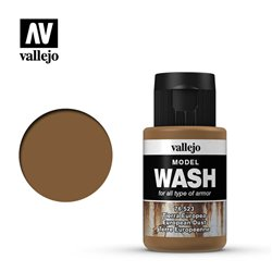 VALLEJO 76.523 Model Wash European Dust Color 35 ml.