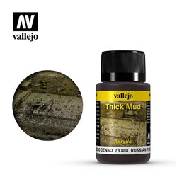 Vallejo 73.808 Weathering Effects Russian Thick Mud 40ml