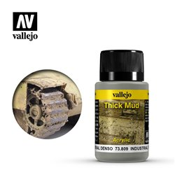 Vallejo 73.809 Weathering Effects Industrial Thick Mud 40ml