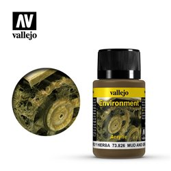 Vallejo 73.826 Weathering Effects Mud And Grass Effect 40ml