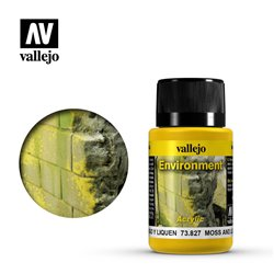 Vallejo 73.827 Weathering Effects Moss And Lichen Effect 40ml