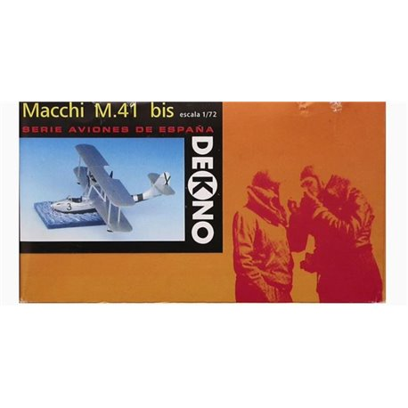 DEKNO MODELS E-1700 1/72 Macchi M.41 bis