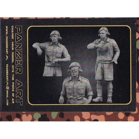 PANZER ART FI35-057 1/35 British RAC in North Africa Early Tank Crew