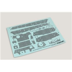 MENG SPS-039 1/35 German Heavy Tank Sd.Kfz.182 King Tiger Zimmerit Decal
