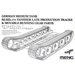MENG SPS-049 1/35 German Medium Tank Sd.Kfz.171 Panther Late Production Tracks&Movable RunningGear