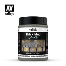 Vallejo 26.809 Industrial Thick Mud 200ml