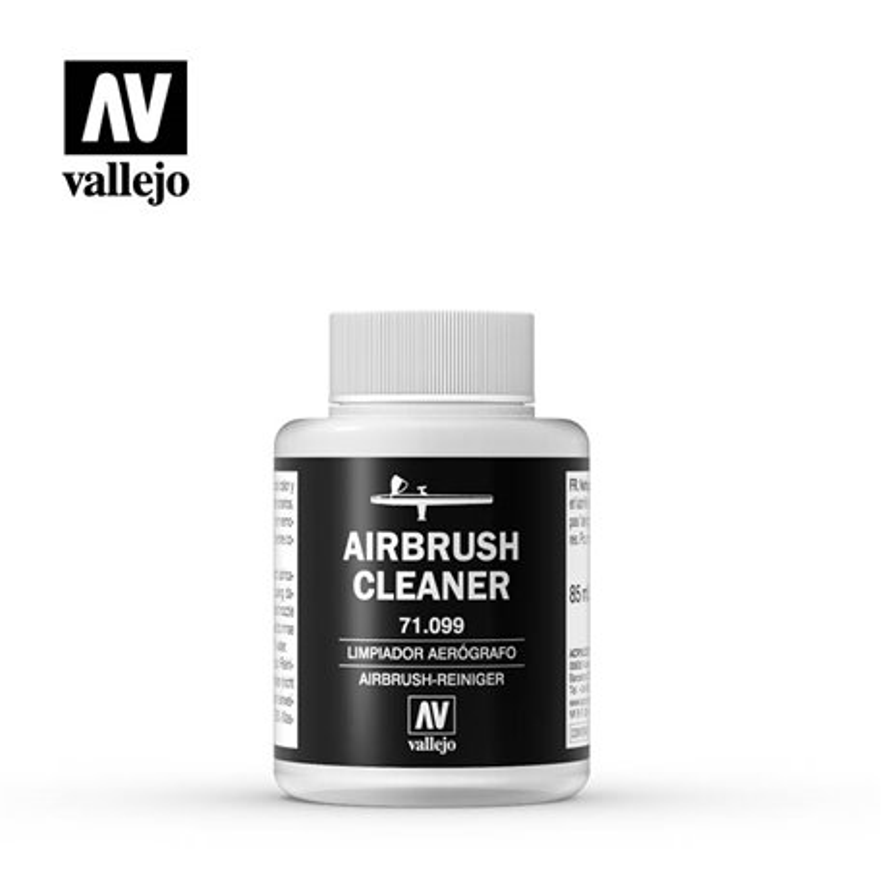 Vallejo 71.099 Nettoyant Aérographe – Airbrush Cleaner 85ml