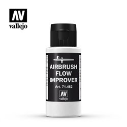 VALLEJO 71.462 Auxiliary Airbrush Flow Improver 462-60Ml. Airbrush 60 ml.