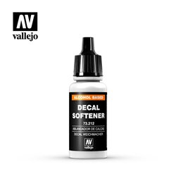 Vallejo 73.212 Model Color Decal Softener Assouplissant Decal 17ml